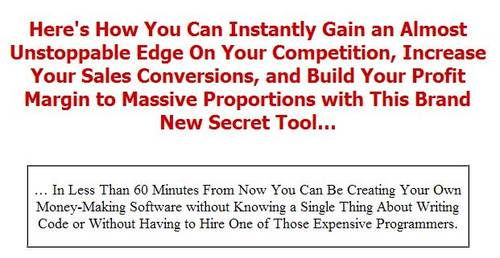 Product picture 30 Minute Software Creator